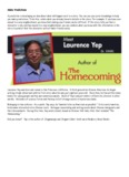 """""""The Homecoming"""" by Laurence Yep"""
