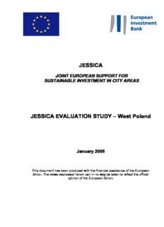 JESSICA JESSICA EVALUATION STUDY – West Poland