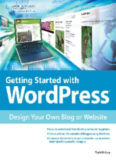 Getting Started with WordPress  Design Your Own Blog or Website