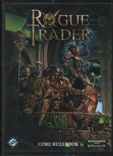 Rogue Trader RPG: Core Rulebook (Warhammer 40,000 Roleplay)