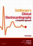 Goldberger's Clinical Electrocardiography 9th Ed: A Simplified Approach Bookmarked, Indexed