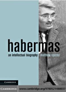 Habermas: An Intellectual Biography