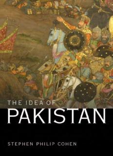 The Idea of Pakistan (Stephen Philip Cohen)