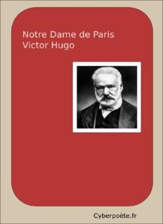 Notre-Dame de Paris – Victor Hugo 1