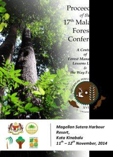 International Conference on 'Sabah Heart of Borneo (HoB) Green Economy & Development