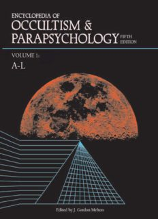 Encyclopedia of Occultism and Parapsychology by Leslie Shepard