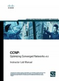 CCNP: Optimizing Converged Networks v5.0 - Instructor Lab Manual