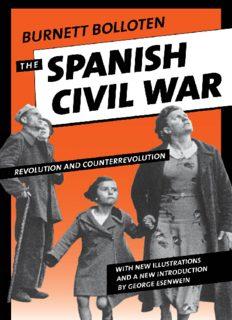 The Spanish Civil War: Revolution and Counterrevolution