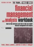 Financial Management and Analysis Workbook: Step-by-Step Exercises and Tests to Help You Master Financial Management and Analysis