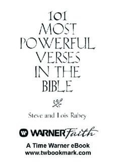 101 Most Powerful Verses in the Bible (101 Most Powerful Series)