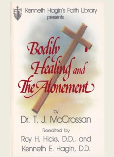 by Reedited by Roy H. Hicks, D.D., and Kenneth E. Hagin, D.D.