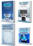 Stock Trading Strategy: 3-Book Bundle – Stock Market Investing for Beginners + Day Trading for Beginners + Penny Stocks + BONUS Content: Trading Psychology of Millionaire Investors