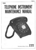1968 - Telephone Installation Maintenance Man. (TIMM-2)