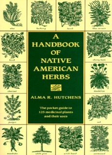 A Handbook of Native American Herbs