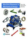 Machine Elements in Mechanical Design