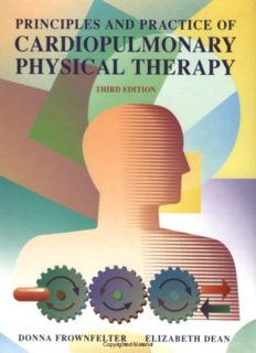 Principles & Practice of Cardiopulmonary Physical Therapy