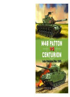 M48 Patton vs Centurion: Indo-Pakistani War 1965 (Osprey Duel 71)