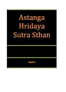 Astanga Hridaya Sutra Sthan