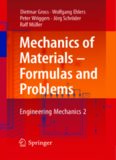 Mechanics of Materials - Formulas and Problems: Engineering Mechanics 2
