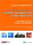 Recent Advances in Food Analysis (RAFA 2013) - rafa2013.eu