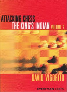 Attacking Chess: King's Indian, Volume 2 (Everyman Chess)
