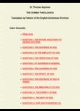 St. Thomas Aquinas THE SUMMA THEOLOGICA Translated