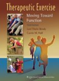 Therapeutic Exercise Moving Toward Function 3 ed