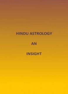 Astrology – Hindu Astrology, An Insight