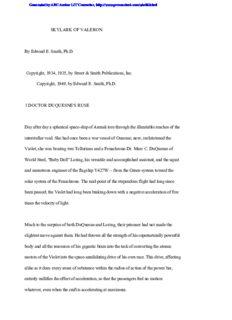 Smith, EE Doc - Skylark 3 - Skylark of Valeron