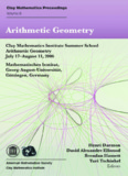 Arithmetic Geometry Clay Mathematics Institute Summer School Arithmetic Geometry July 17 ...