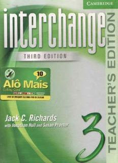Interchange 3 (Teacher's Book)