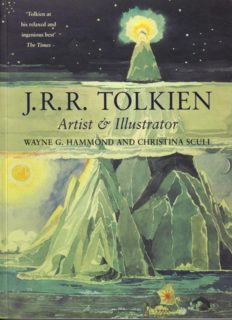 J.R.R. Tolkien--Artist and Illustrator The Hobbit-Lord of the Rings