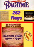 262 Classic Piano Rags. Various Composers