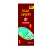 Chemistry Module IV Organic Chemistry I for IIT JEE main and advanced Rajesh Agarwal McGraw Hill Education