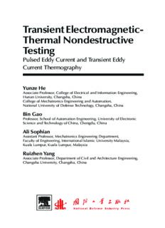 Transient Electromagnetic-Thermal Nondestructive Testing. Pulsed Eddy Current and Transient Eddy Current Thermography