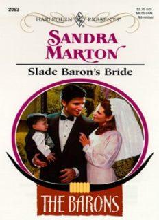 Slade Baron's Bride