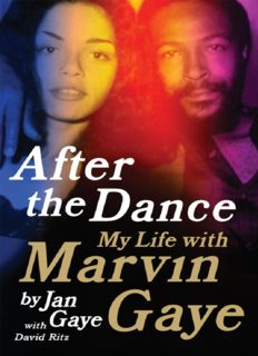After the dance : my life with Marvin Gaye
