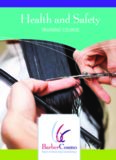 Board of Barbering and Cosmetology - Health and Safety Training Course