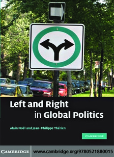 Left and Right in Global Politics