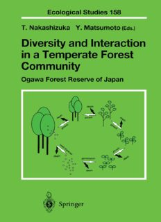 Diversity and Interaction in a Temperate Forest Community: Ogawa Forest Reserve of Japan