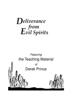 Deliverance From Evil Spirits - Derek Prince