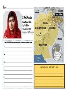 I Am Malala by Malala Yousafzai and Patricia McCormick