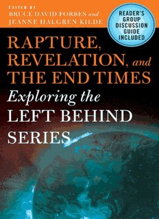 Rapture, Revelation, and the End Times - Latest Books Uploaded