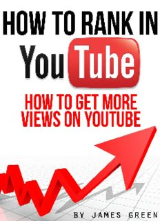 How to Rank in YouTube: How to get more views on YouTube
