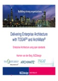 Delivering Enterprise Architecture with TOGAF® and ArchiMate® with TOGAF and ArchiMate