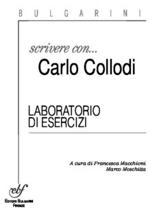 Scrivere con Carlo Collodi. Laboratorio di esercizi