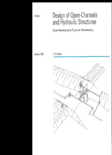 Design of Open-Channels and Hydraulic Structures
