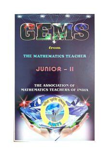 AMTI GEMS Junior 2 from The Mathematics Teacher Bhaskara Contest Math Olympiad Foundation Edited by Dr. M Palanivasan for PRMO RMO INMO IMO