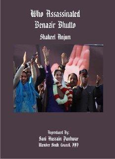 WHO ASSASSINATED BENAZIR BHUTTO
