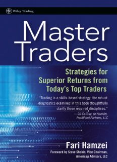 Master Traders: Strategies for Superior Returns from Todays Top Traders (Wiley Trading)